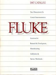 fluke catalog 1987 calibration computing