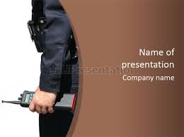 terrorism safety security guard powerpoint template id 0000029292