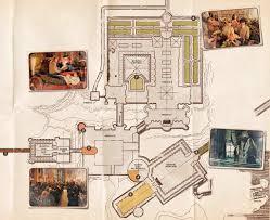 como era o mapa de hogwarts segundo a franquia u201charry potter
