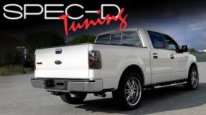 2004 f150 tail lights specdtuning installation video 2004 2008 ford f 150 tail lights