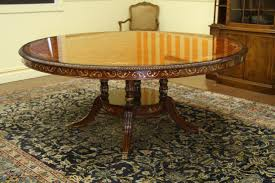 steve silver 72 round dining table elegant 72 inch round dining table luxurious walnut and pearl inlaid