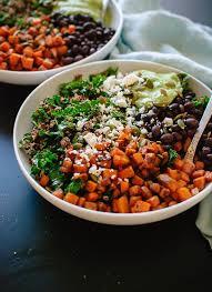 Mediterranean Kitchen Bellevue - southwestern kale power salad cookie and kate