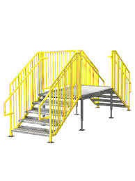 portable stairs prefab ibc u0026 osha options in stock erectastep