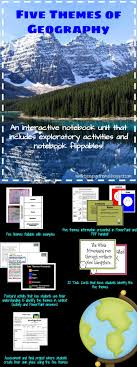 5 themes of geography lesson 17 best 6th grade humanities images on pinterest five themes of