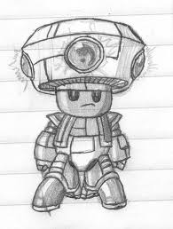 mecha toad sketch kryptid deviantart