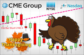 thanksgiving e mini cme nyse and nasdaq trading hoursday trade