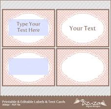 Tent Card Designs Custom Card Template Name Tent Card Template Free Card