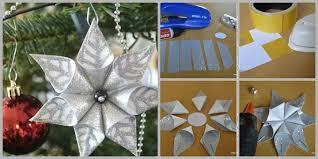 wonderful diy glittery flower ornament