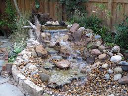 Small Water Features For Patio Pondless Water Feature Landscape Traditional With Bolder Garden