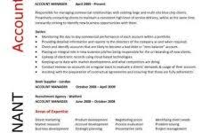 construction manager cv template building industry references