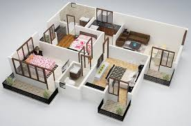 House Plans And Designs For 3 Bedrooms 25 Three Bedroom House Apartment Floor Plans