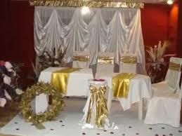 mariage deco decoration mariage en dorée deco salles fetes organisatrice de
