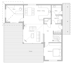 small house plan ch17 home design plans house plan
