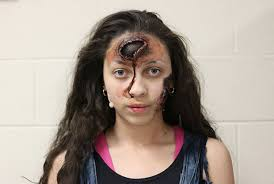 theatrical makeup school swipe the photos and see holyoke high school students decompose
