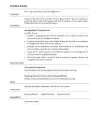 Senior Auditor Resume Sample by Senior Internal Auditor Resume Sample Corpedo Com