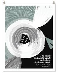 twister wizard of oz l frank baum literary art print