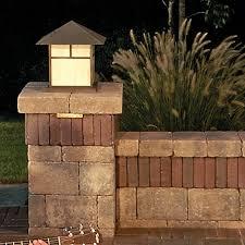 Outdoor Pillar Lights Brussels Dimensional Pillar With Copthorne Accent Outdoor Lighting