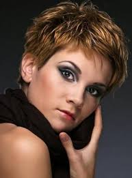 highlights in very short hair 16 best short and highlight hairstyles images on pinterest short