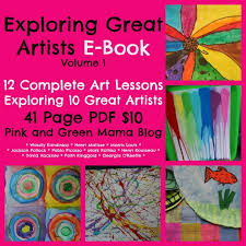 green plans pink and green shop lesson plansebooks picasso faces plans