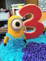 monsters inc cake toppers the story plus monsters inc plus despicable me birthday cake