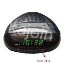 Bathroom Radio Clock Kajoin Alarm Clock Wireless Bathroom Spy Camera Recorder Motion