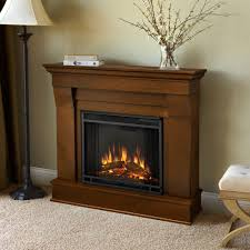 Portable Gas Fireplace by Real Flame Chateau 41 In Electric Fireplace In White 5910e W