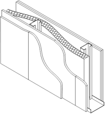 Standard Interior Wall Thickness Acoustic Performance Of Walls Steelconstruction Info