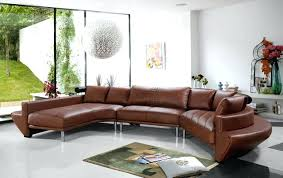 Curved Sectional Sofa Leather Curved Sofa Lifeunscriptedphoto Co