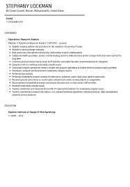 operations research analyst resume sample velvet jobs