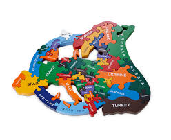 Map Puzzle Usa by Map Of Usa Wood Like To Playwood Like To Play