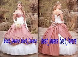 2014 custom made victorian ball gown wedding dresses princess