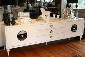 modern white credenza expose your style nytexas