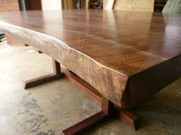 Dining Room Furniture Sales by Brilliant Live Edge Dining Table For Sale Walnut Steel Trapezoid