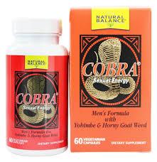 natural balance cobra formula for men 60 capsules walmart com