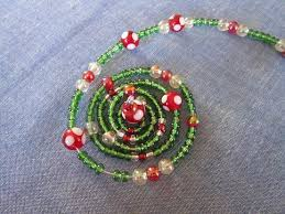 Easy Beaded Christmas Ornaments - miss abigail u0027s hope chest tutorial spiral beaded christmas tree