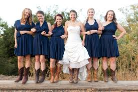 bridesmaid dresses with cowboy boots bridesmaid dresses gown and dress gallery