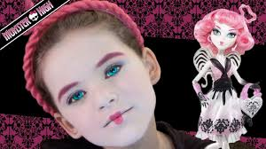 monster high halloween dolls abbey bominable monster high doll halloween costume makeup