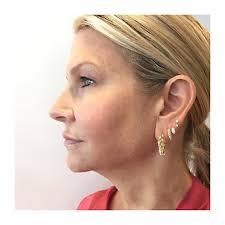 invisible earrings 3mm 2mm invisible set diamond dangle threaded stud earlobe