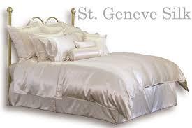 Bay Duvet Covers St Geneve Soho Silk Plumeria Bay