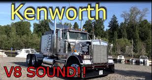 kenworth engines kenworth v8 truck engine sound youtube