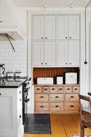 the new old kitchen modern spaces with vintage pieces apartment look we love vintage details in the kitchen