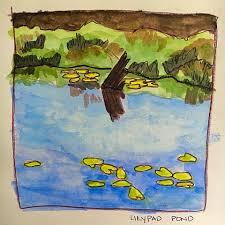 lilly pad pond u2014 ruby throat journal