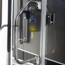 rv door glass lend a hand rv hand rail black stromberg carlson am 800 hand