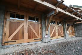 home entrance door timber garage doors