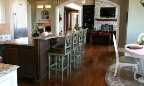 6 foot kitchen island stools suitable how many stools for 6 foot island entertain
