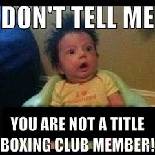 Boxing Memes - 40 best title boxing club memes images on pinterest boxing club