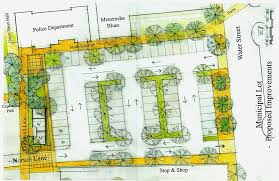 parking lot floor plan new plan for vineyard haven parking lot the martha s vineyard times