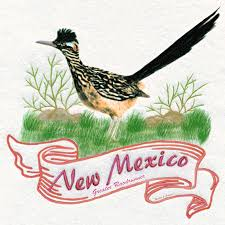 new mexico state bird the greater roadrunner digital art by walter