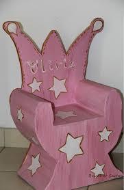 chaise bureau princesse chaise princesse et ses é de réalisation en bricol