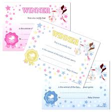 Baby Shower Halloween Games Party Game Winners Certificates Uk Baby Shower Co Ltd